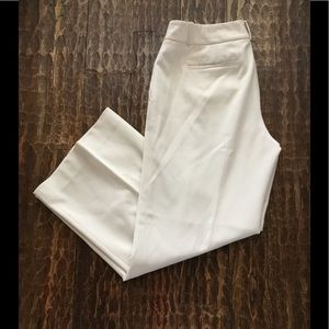 Banana Republic Lined Cream Pants - Size 12 (EUC)